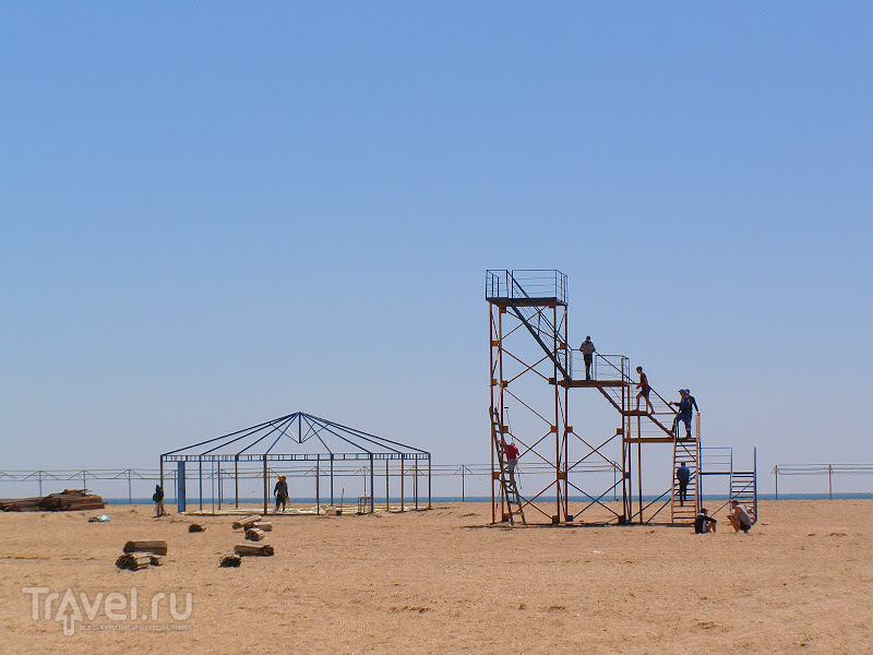 Город-курорт Анапа. Станица Благовещенская. Кин-дза-дза, или долгая дорога в дюнах / Россия
