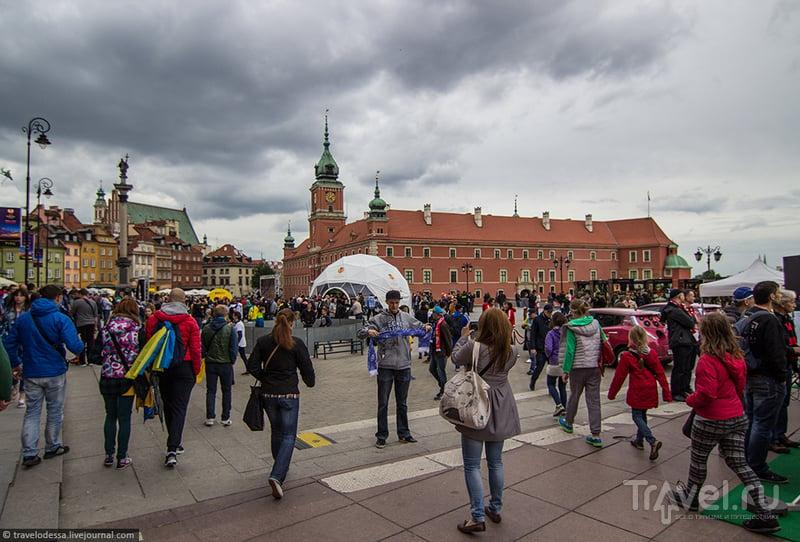 Финал Лиги Европы в Варшаве. Футбольная атмосфера старого города / Польша