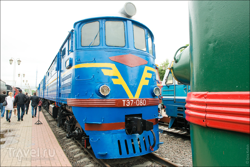 Музей паровозов, настоящее депо и поездка на ретро поезде / Фото из России