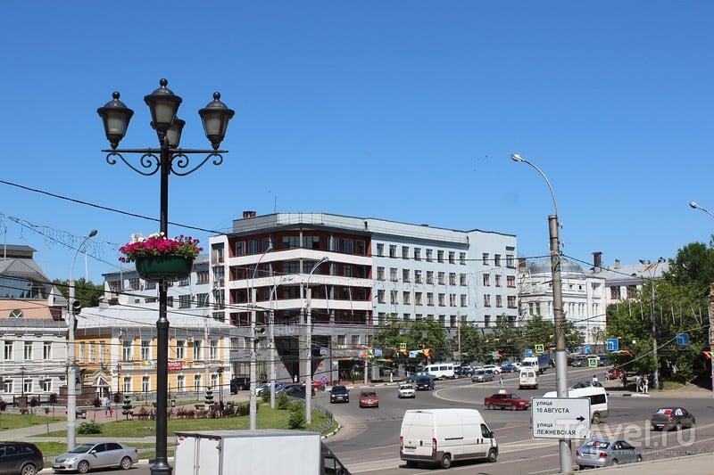 Короткая прогулка по центру Иваново / Россия