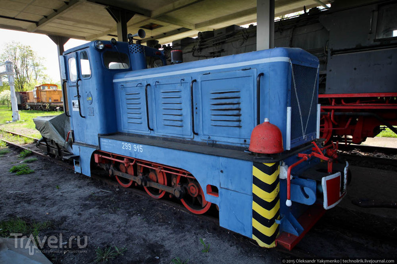 Железнодорожная техника угольных карьеров Саксонии / Германия