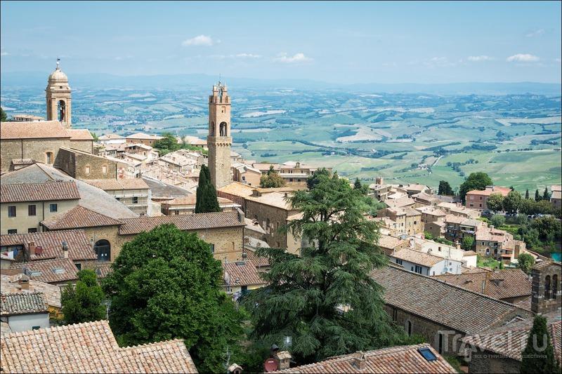"""Три М"" долины Орча: Монтальчино / Фото из Италии"