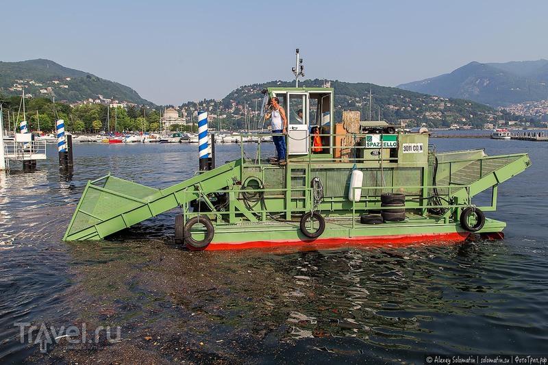 Фуникулер на озере Комо / Фото из Италии