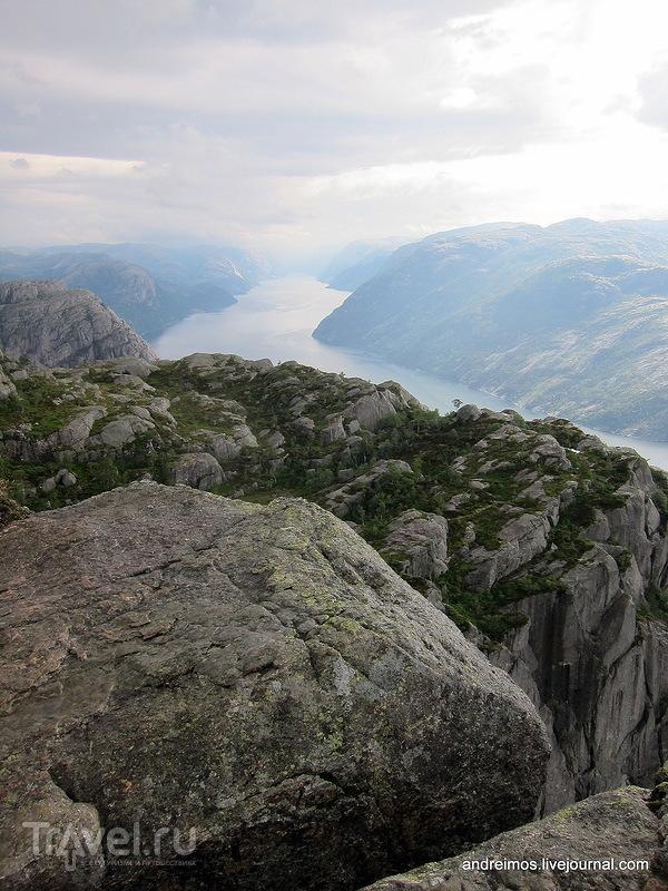 Прекестулен / Фото из Норвегии