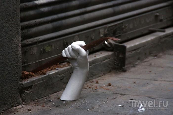 Современное искусство на улицах Барселоны / Испания