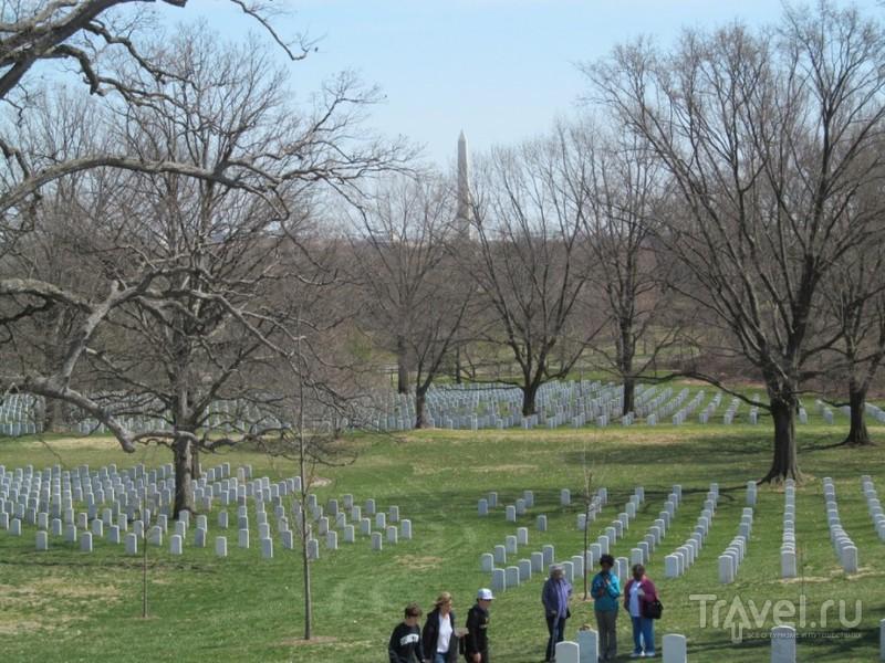 Вашингтон. Молл, Мемориалы и Арлингтонское кладбище / США