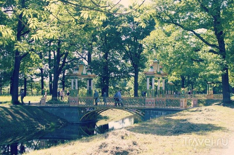 Александровский парк в Пушкине, Санкт-Петербург / Россия