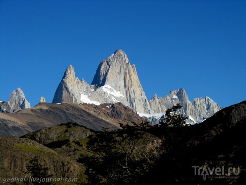 Чили - сбыча мечт! Патагония. Аргентина. Трек к Лагуне дель Торре / Фото из Аргентины