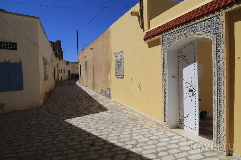 Улицы города Эль-Джем / Фото из Туниса