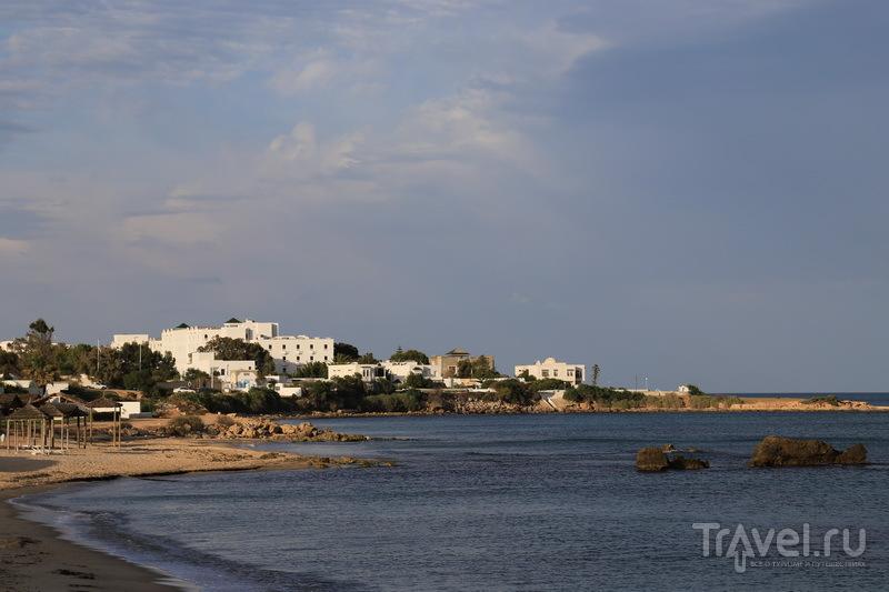 Морское побережье в Тунисе / Фото из Туниса