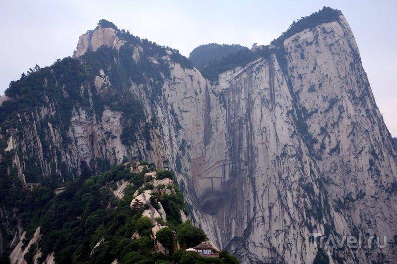 Китай, Хуашань - вверх пешком / Китай