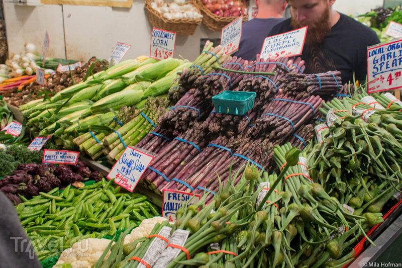 Сиетл. Pike Place Market / США
