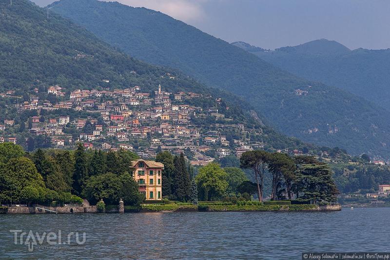 Прогулка на катере по озеру Комо / Фото из Италии