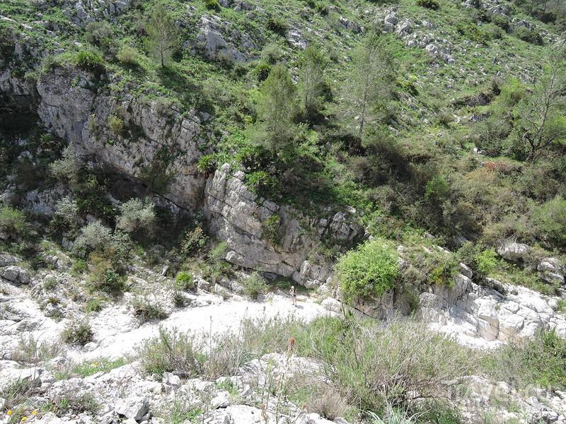 Каньон Инферн возле Валь д'Эбо / Фото из Испании