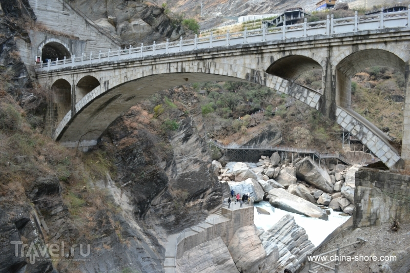 Ущелье Прыгающего тигра / Китай
