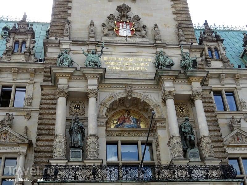 Гамбург: Новая Ратуша, уже шестая по счёту / Германия