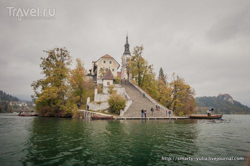 Озеро Блед / Фото из Словении