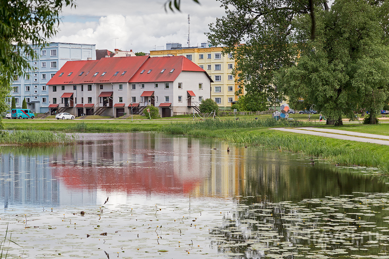 Валка/Валга: один город на две страны / Фото из Латвии