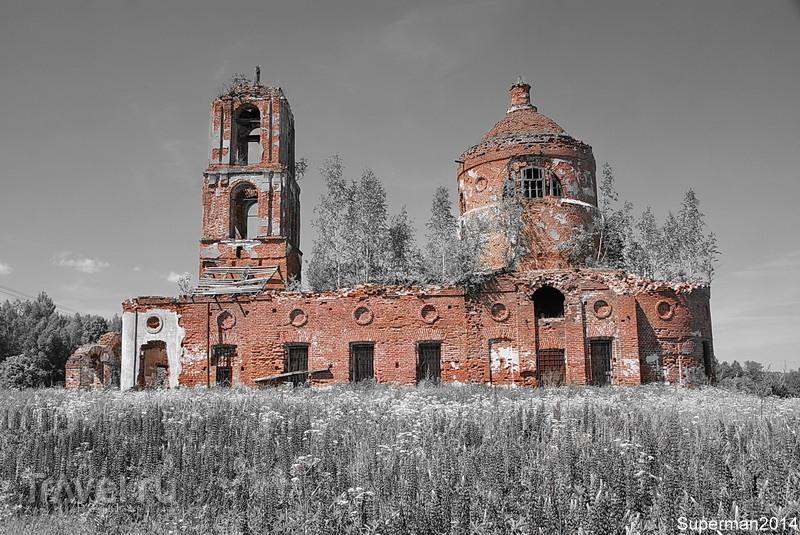 Заброшенное село Ирошниково / Россия