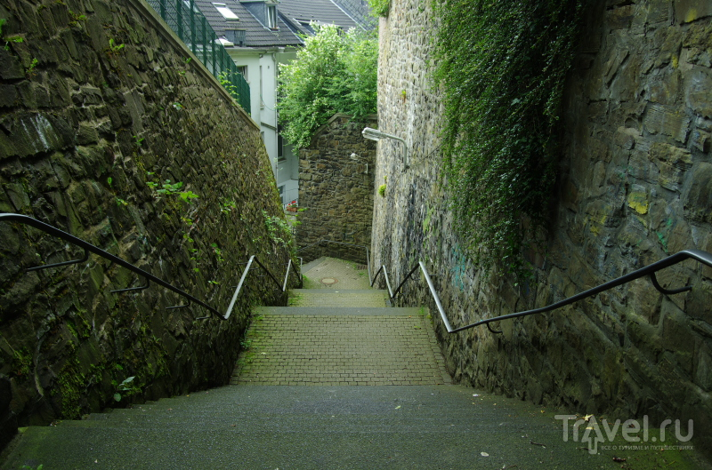 Лестницы Вупперталя / Фото из Германии