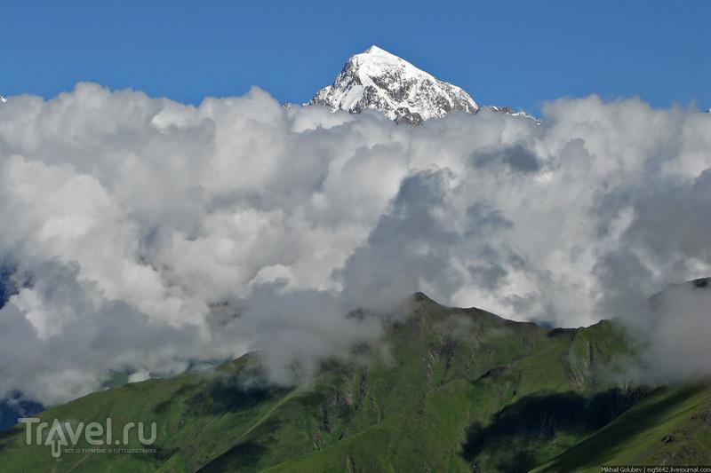 О вершинах Кавказа. Коштантау и Казбек / Фото из России