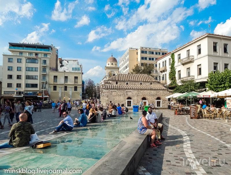 Афины. Блеск и нищета / Фото из Греции