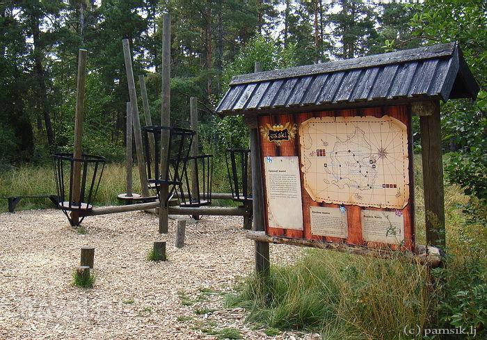 Наантали.  Парк Приключений на Острове Пиратов / Финляндия