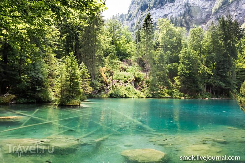 Швейцарские горные озера - Blausee, Brandsee / Фото из Швейцарии