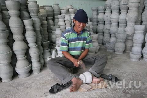 Ступка тайская. Гранит или керамика / Таиланд