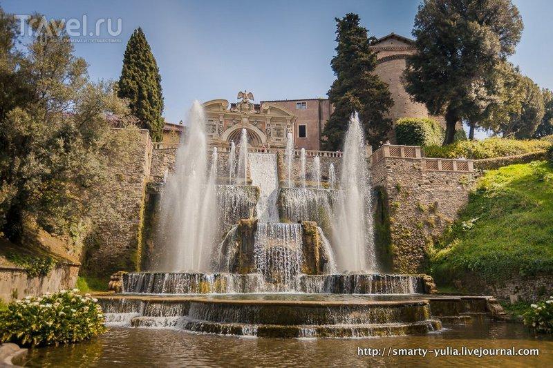 Тиволи : Вилла д'Эсте / Фото из Италии