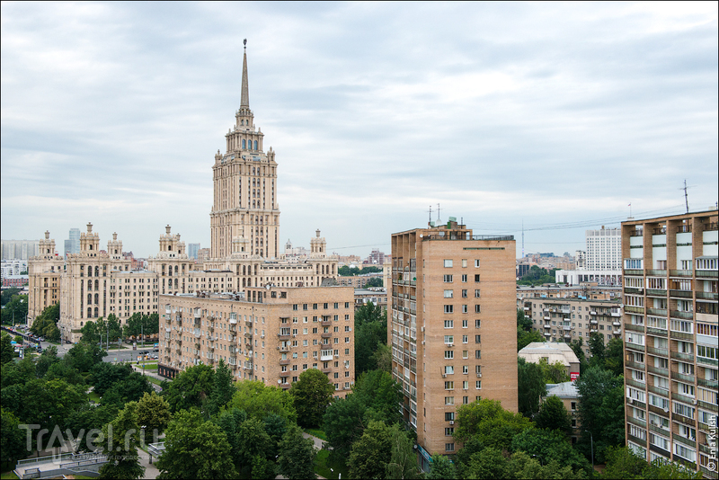 Экскурсии по крышам в Москве / Россия