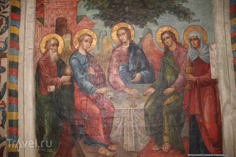 Потайные места храма Василия Блаженного / Россия