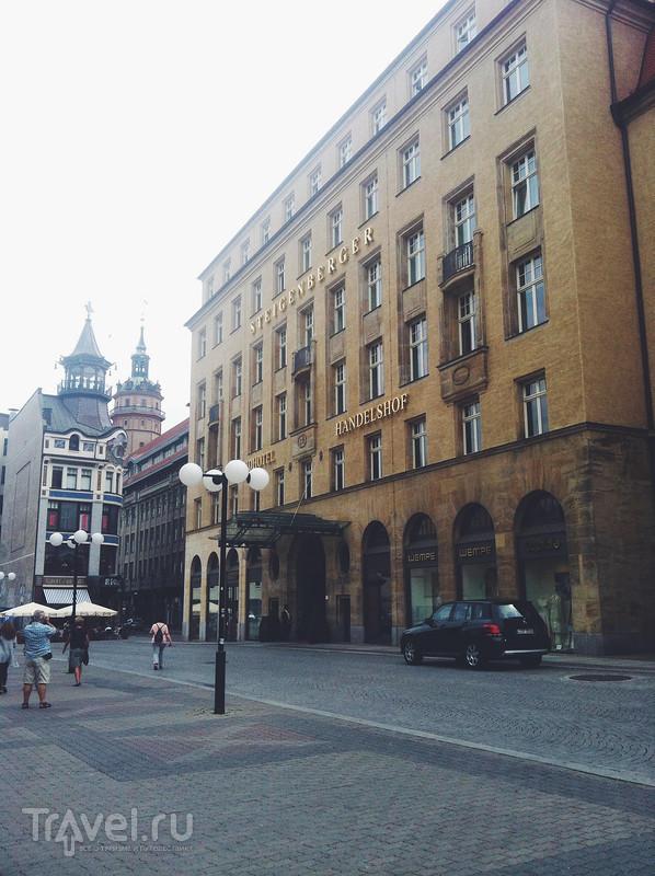 Лейпциг: Steigenberger Grandhotel Handelshof / Германия
