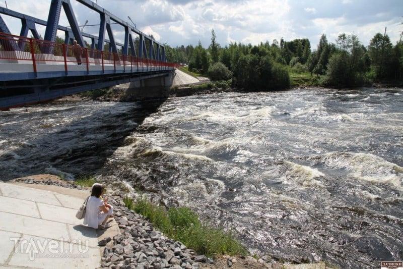 Карелия. Лосевские пороги, Рускеальские водопады / Россия