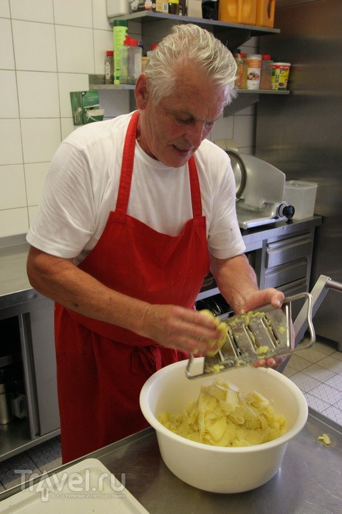 Салат картофельный. Немецкая версия / Германия
