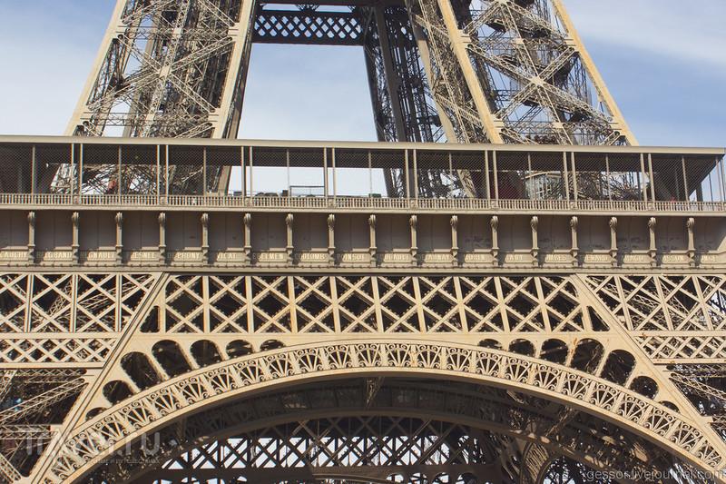 Париж с мотоцикла / Франция