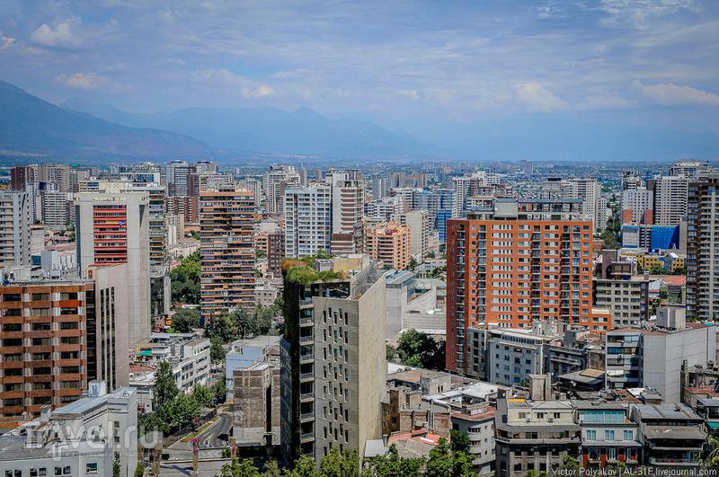 Сантьяго-городок / Фото из Чили