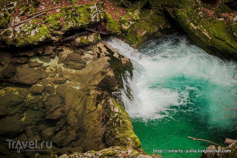 Ущелье Винтгар в Словении / Фото из Словении
