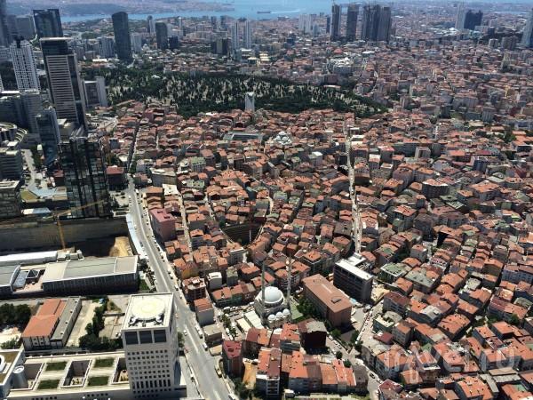 """Стамбул с крыши небоскреба """"Сапфир"""" и Ф.М. Достоевский / Турция"""