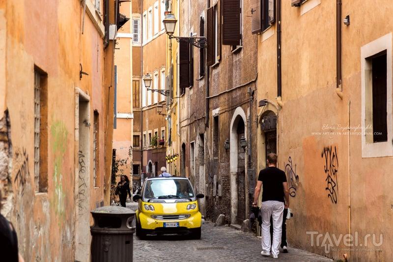 Рим. Трастевере / Италия