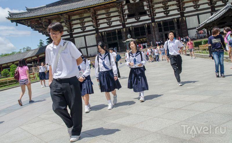 Япония, Нара: Лица / Япония