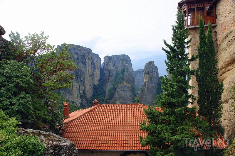 Монастырь святой Варвары - женский монастырь русской епархии в Метеорах / Греция