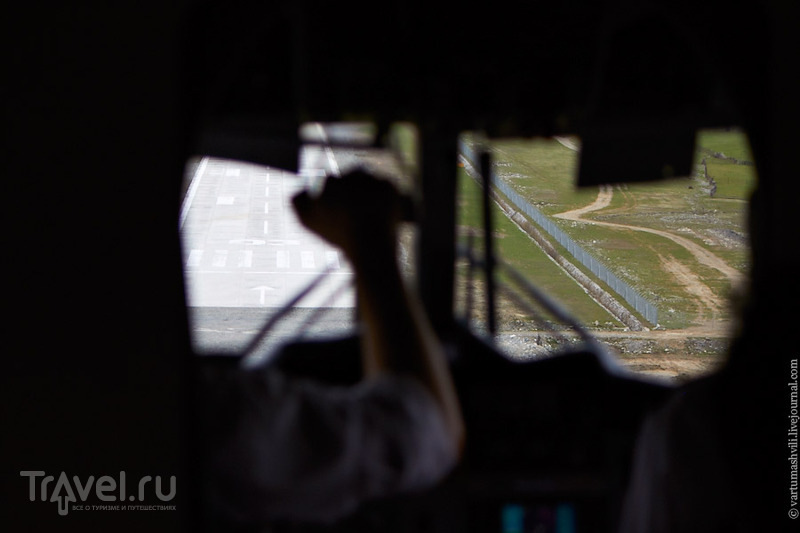 Грузия. Перелет из Тбилиси в Сванетию / Фото из Грузии