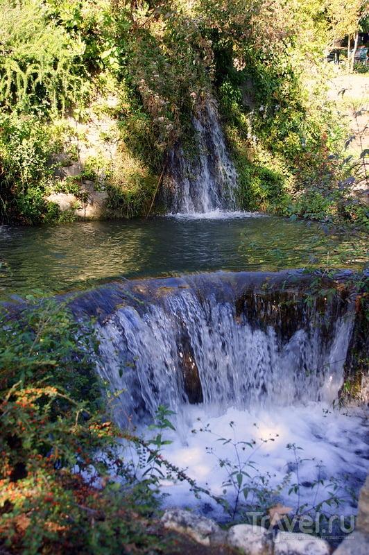 Эдесса - город на воде, город водопадов / Греция