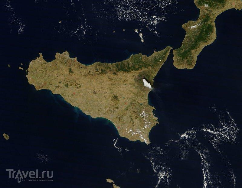 Путешествие к вулкану Этна. Сицилия / Фото из Италии