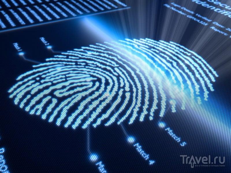 Сканирование отпечатков пальцев гарантирует идентификацию