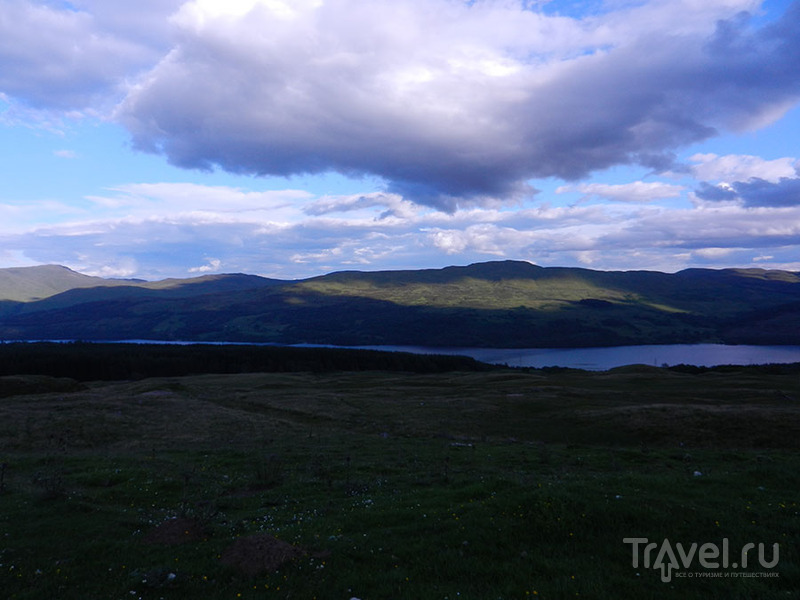 Шотландская глубинка - долина фей Глен Лион / Великобритания