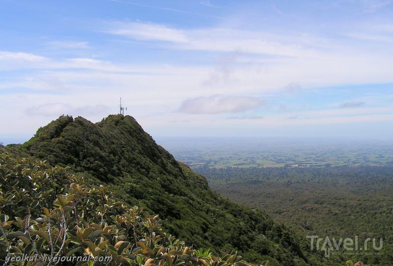 В стране антиподов. Вулкан Таранаки / Фото из Новой Зеландии