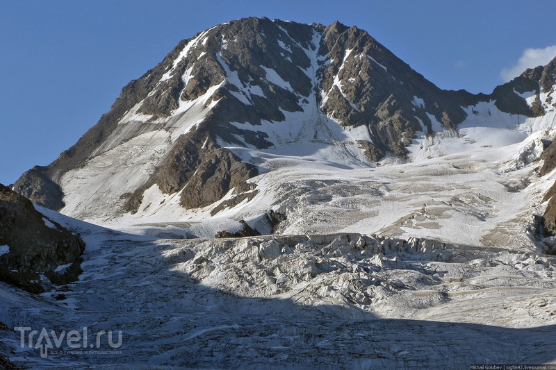 О вершинах Кавказа. Тютюбаши, Донгузорун и Накратау / Фото из России