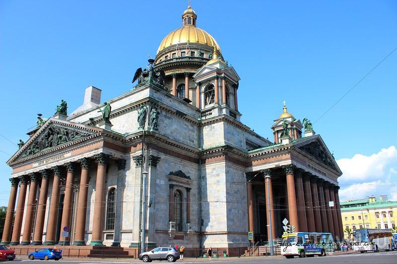 Исаакиевский собор- самый величественный / Россия
